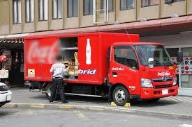 コカコーラ運搬車